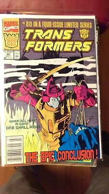 Transformers 80 (1991) rare last issue, NEWSSTAND