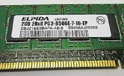 DELL HP 2GB2RX8 PC3-8500E DDR3 ECC Unbuffered Server DESKTOP Memory RAM ELPIDA