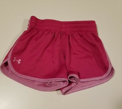 Toddler Girls Athletic Shorts Under Armour 4T Pink