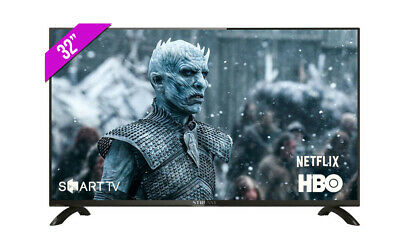 "Television Hd Smart Tv 32"" Led Android Netflix Hbo +Regalo"