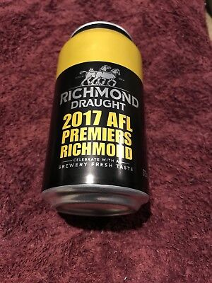 Richmond Tigers 2017 Premiership Beer Can