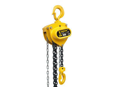 1 Ton Mechanics Chain Lift Block Hoist Engine Tackle Heavy Duty Lifting Pulley
