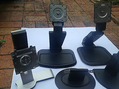 Monitor PC LCD screen stands bases
