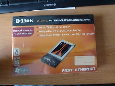 D-Link DFE-690TDX Fast ethernet Cardbus Notebook Adapter