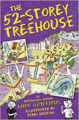 The 52-Storey Treehouse (The Treehouse Books), New, Griffiths, Andy Book