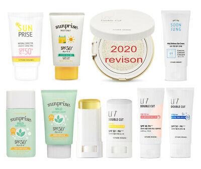 ETUDE HOUSE - SUNSCREEN Collection ( SUN BLOCK & CREAM, Original KOREA Genuine )