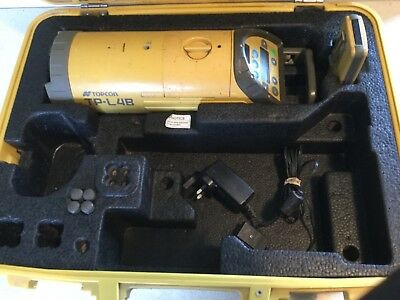 TOPCON TP-L4B Pipe Laser c/w Target,Remote Control and Charger