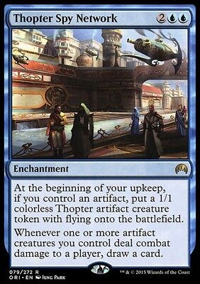 Thopter Spy Network ~ Magic Origins ~ NearMint/Excellent+ ~ Magic The Gathering