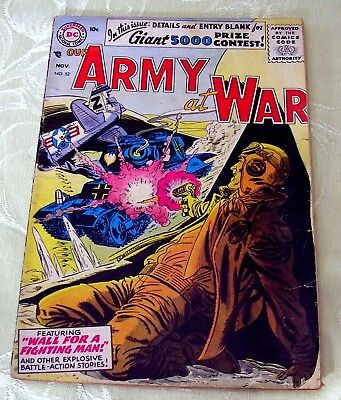 Our Army At War, #52, Nov 1956 (3.5 Gd/vg) Dc