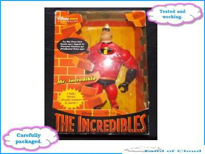 """The Incredibles Mr. Incredible 12"""" talking figure - Disney Store Exclusive 0546W"""