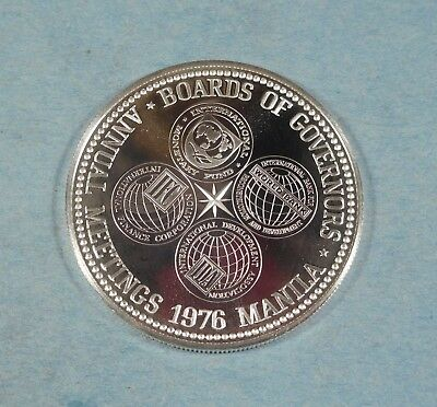 1976 PHILIPPINES 50 PISO - Silver - PROOF