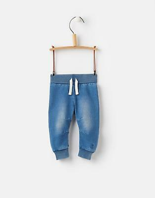Joules 124727 Hugo Baby Boys Trousers with Soft Waistband in Denim