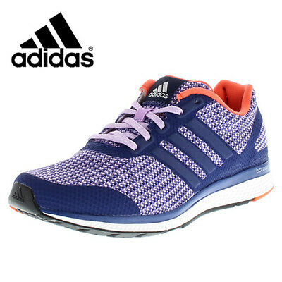 537be70d26563 ADIDAS WOMENS MANA Bounce Purple Running Shoes Fitness Gym Trainers ...