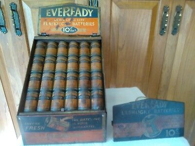 Eveready Flashlight  Batteries Store Counter Display