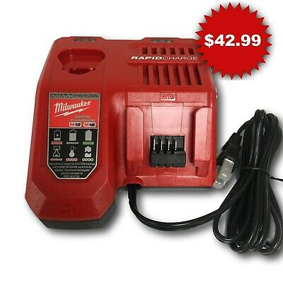 Milwaukee 48-59-1808 NEW M12/M18 Lithium-Ion Battery Rapid Charger