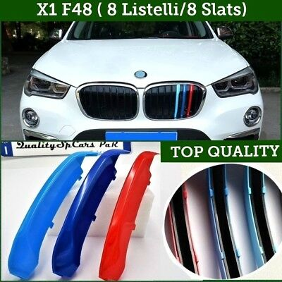Fasce griglie Bmw X1 F48 2016> M sport cover calandre front grill m performance