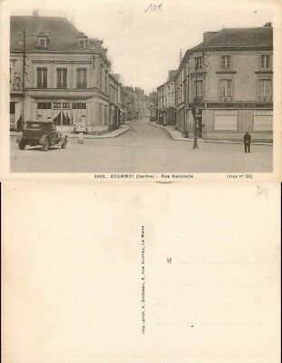 [510335] - France  - (72) Sarthe, Ecommoy, Rue Nationale, Commerce, Magasins