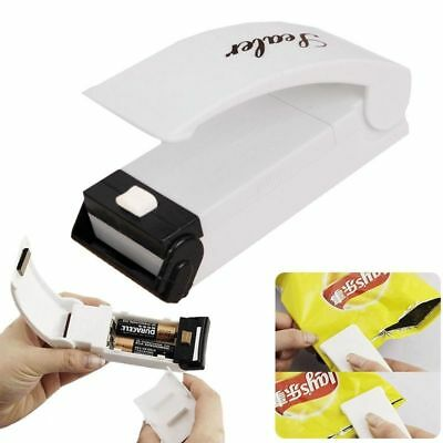 Portable Mini Heat Sealing Machine Impulse Packing Plastic Bag Reseal Tool US