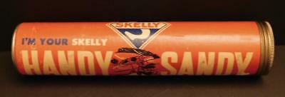 """1950's Skelly Handy Sandy Container """"Emergency Sand"""" for Winter Shelf6"""