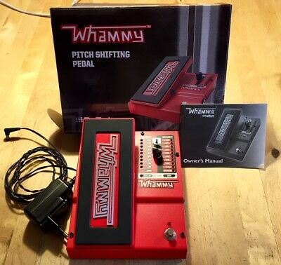 Digitech Pitch Shifting Pedal Whammy 5 wie neu