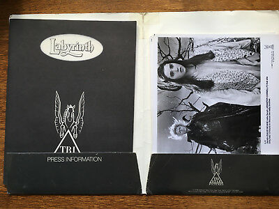 David Bowie / Jim Henson Labyrinth film press kit (1986), complete