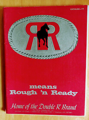 1977 RED RANGER SADDLERY Co. CATALOG Great Pictures and Prices Shown