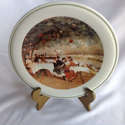 Picnic by the Lake Accent Plate Richard Ginori Italy