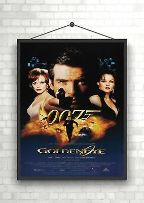Goldeneye James Bond Classic Large Movie Poster Print