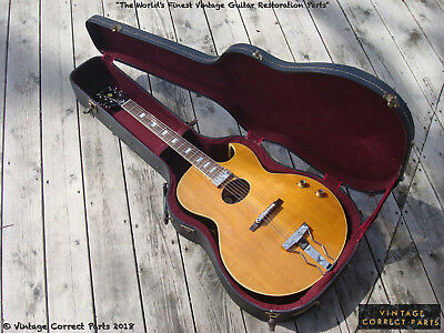 Vintage 1965 Epiphone Howard Roberts FIRST YEAR BLONDE Fusion Archtop ES-175