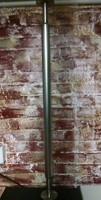 "Heavy Duty Stainless steel  support leg adjust from 32 to 37"" food service bar"