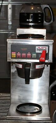 Curtis Superior Commercial Coffee Brewer 3 Pot Triple Maker SCALP3DS63A000