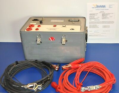 Vanguard Auto-Ohm 100A Low Resistance Ohmmeter - NIST Calibrated with New Leads