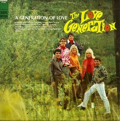 The Love Generation A Generation Of Love NEAR MINT Imperial Vinyl LP
