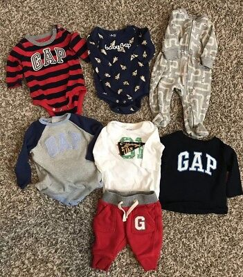 Baby Gap Boy 0-3 and 3-6 Month Lot