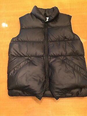 Crescent Down Works Kid's Vest (Black Size 14)