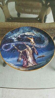 "Royal Doulton ""Sorcerer's Spell"" Decorate Plate"
