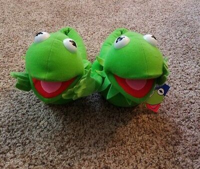 Jim Henson's Muppets Kermit the Frog slippers