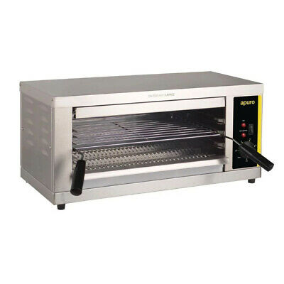 Salamander Grill Electric Steel 643x386x302mm Griller Toaster Apuro Commercial