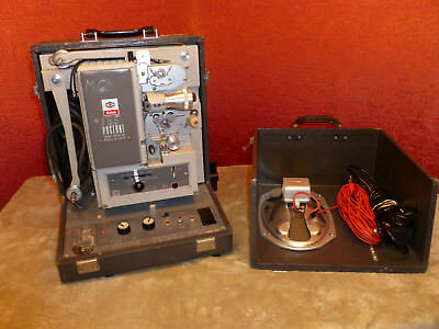 Kodak Pageant 16mm Projector Mod #AV-126-TR, Working Condition