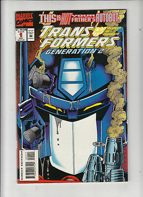 Transformers Generation 2 #1 (Marvel 1993)  NM-