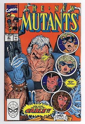 The NEW MUTANTS #87 1st Appearance of Cable NM MARVEL COMICS