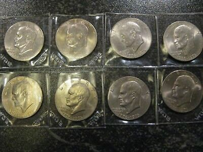 1776-1976 Bicentennial Eisenhauer dollars - Lot of 8