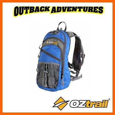 Oztrail Blue Tongue 2 Litre Hydration Pack Hiking Back Pack Bladder New Blue 2L