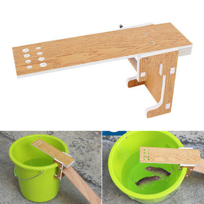 Walk The Plank Mouse Trap Mice Cage Rat Trap Auto Reset Rodent Bucket Board HOT