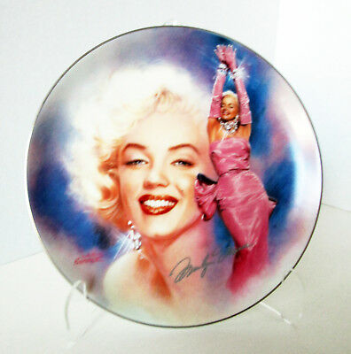 "Marilyn Monroe REFLECTIONS OF MARILYN ""All That Glitters"" Bradford Plate #1"