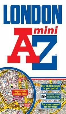Mini London Street Atlas by Geographers' A-Z Map Company 9781843489054