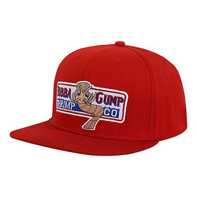 Forrest Gump Bubba Shrimp Co Hat Fancy Dress Party Costume Flat Snapbacks Cap