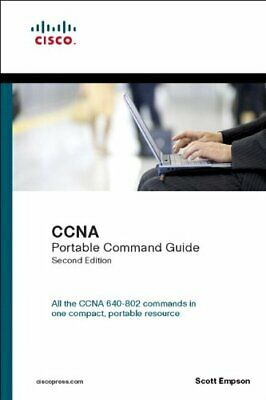 CCNA Portable Command Guide (Self-Study Guide) by Empson, Scott Paperback Book