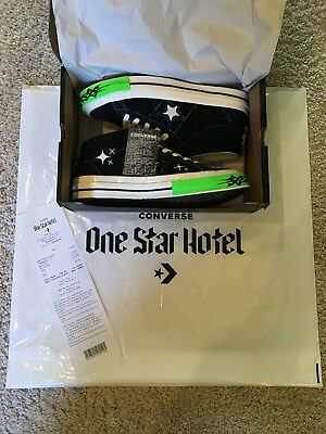 09edd3b7c94f CONVERSE X YUNG Lean One Star Mid Toxic Sad Boys Hotel London. Uk7.5 ...