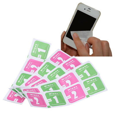 10Pcs/Lot Camera Cleaning Lens LCD Cloth Screen Dust Removal Wet Dry Wipe Paper
